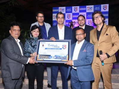 Certificate Of Achievements Awarded By Donald Trump Jr For Trump Towers Delhi NCR