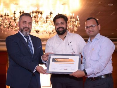 Best Performance – FY 19   Certificate of Achievement By Ambience Group